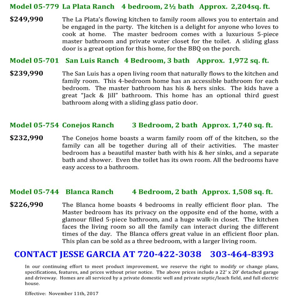 Purcell Townsite Prices
